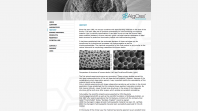 AlgOss Biotechnologies Website Screen 2