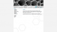 AlgOss Biotechnologies Website Screen 1